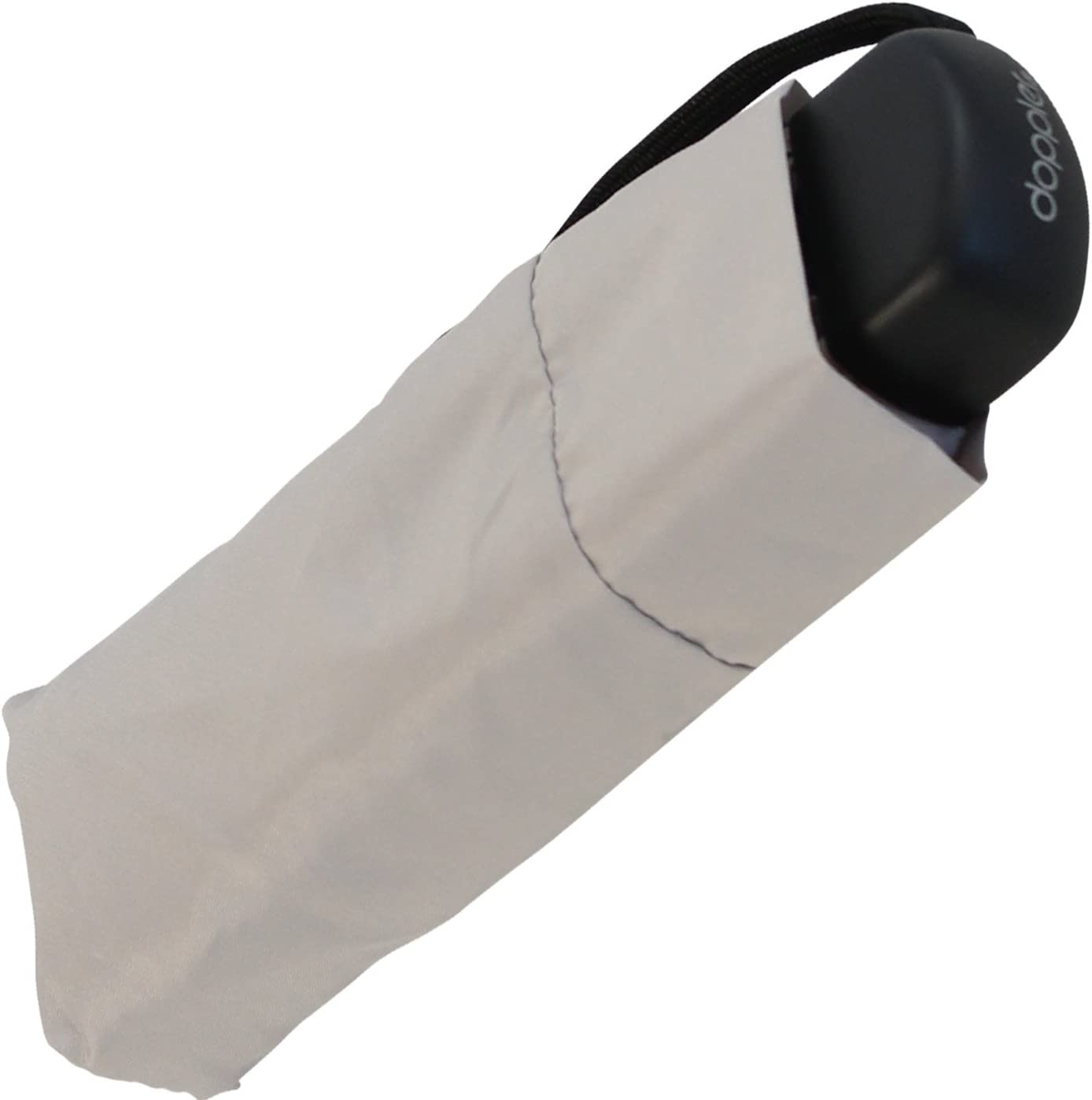 Paraguas para teléfono móvil, tamaño mini, color gris