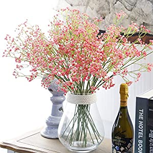 ShineBear 1PC Artificial Baby's Breath Flower for Wedding Decoration Real Touch Gypsophila Home Party Decorations 107