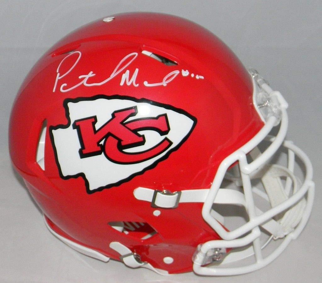 Patrick Mahomes Autographed Kansas City Chiefs Full Size Speed Authentic Helmet JSA COA