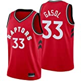 Chaleco Transpirable de Secado r/ápido,Statement edici/ón Camiseta Marc Gasol Toronto Raptors Negra,Camiseta Deportiva