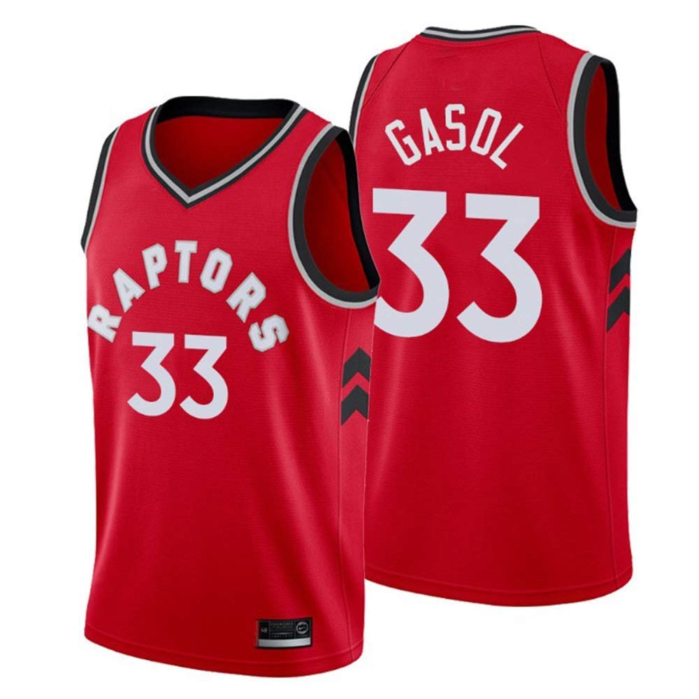 Lalagofe Camiseta Marc Gasol Toronto Raptors Rojo,Camiseta ...