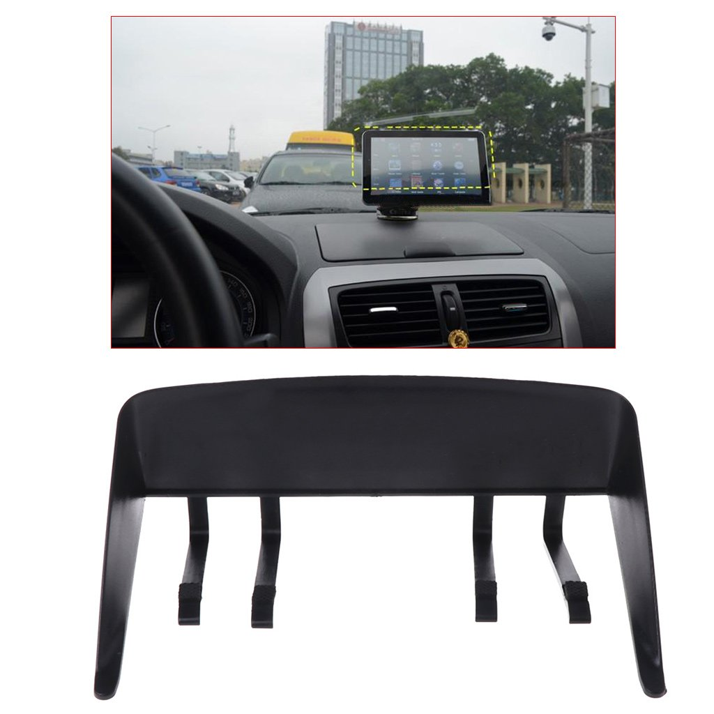 Qiuxiaoaa Universal 7Car GPS Navigator Visor Sunshade Sun Shade Hood Anti Shield,
