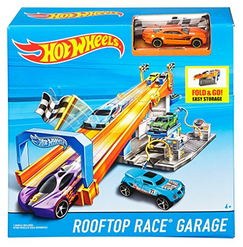 Hot Wheels Rooftop Race Garage Exclusive Playset