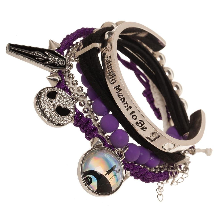 Amazon.com: Nightmare Before Christmas Arm Party Bracelet Set: Clothing