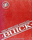 1991 Buick Roadmaster Estate Wagon Repair Shop Manual Original