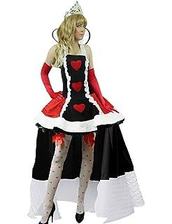 Less is more Paillettenherz - Disfraz de personaje de Alicia en el País de las Maravillas (talla 34/36 (38)), diseño con corazón de lentejuelas: Amazon.es: Juguetes y juegos