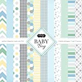 Scrapbook Customs Themed Paper Scrapbook Kit, Baby Boy