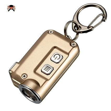 Nitecore TINI Linterna Llavero LED Recargable USB Ultra ...