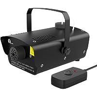 1byone Halloween Fog Machine w/ Wired Remote Control (Black)