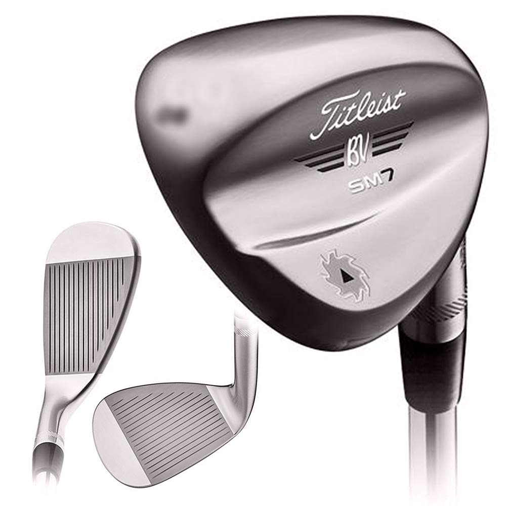 Titleist SM7 Vokey Brushed Steel Wedge 2018 Right 48 10 F-Grind True Temper Dynamic Gold Steel S200 by Titleist