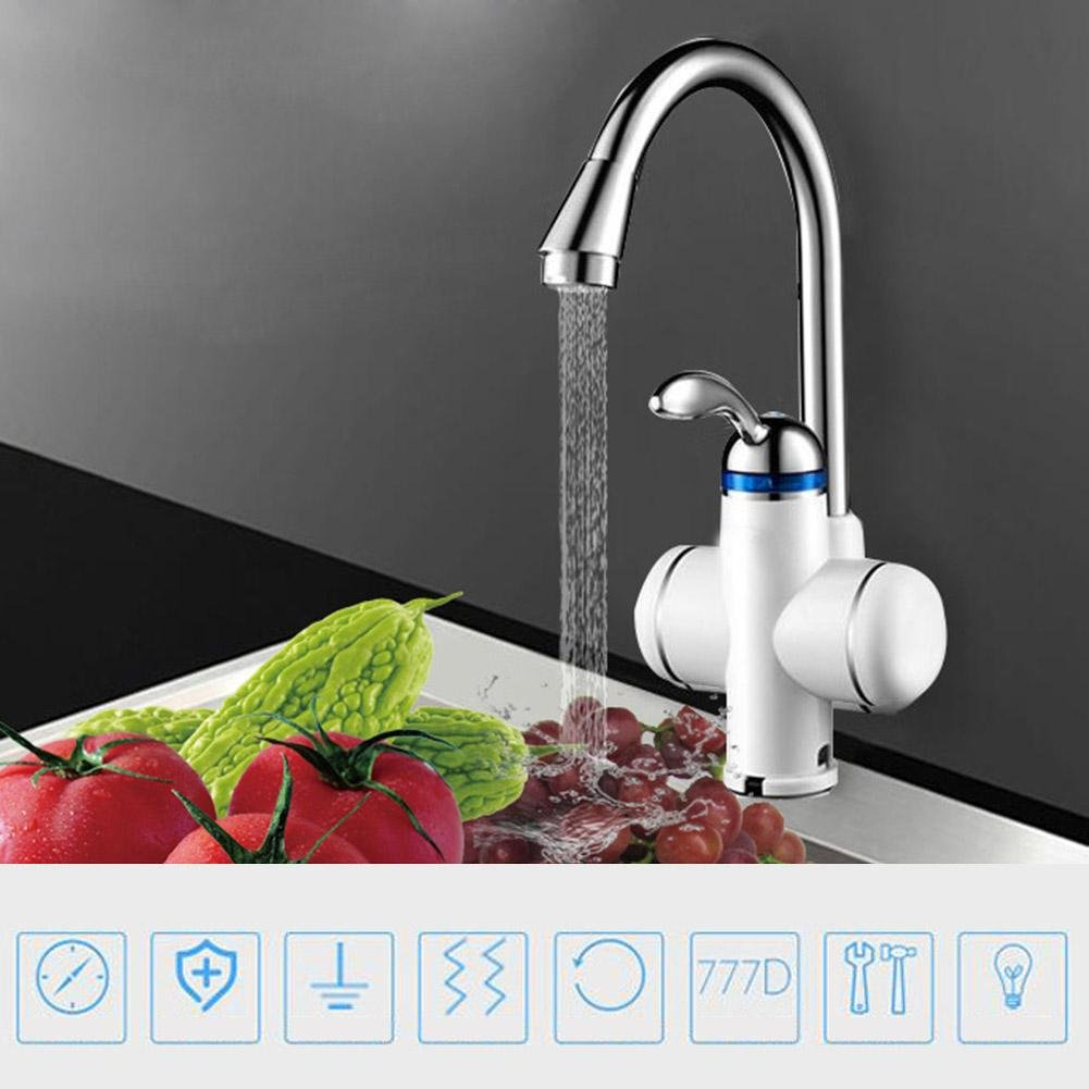 Matefield Stainless Steel Electric Heating Hot Water Instant Tankless Heater Faucet by Matefield (Image #4)
