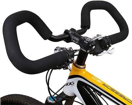 Manillar Manillar Mariposa Mariposa 25.4/31.8 * 590mm Manillar Fijo Bicicleta De Carretera Bicicleta Bicicleta MTB Cinta De Manillar Bar Tape: Amazon.es: Deportes y aire libre