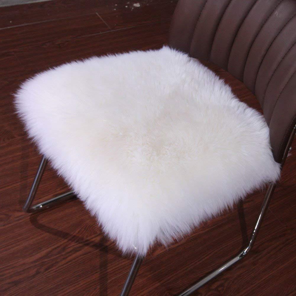 HhGold Cojín en el Color de Liso del Oso de Color Peluche, cojín del sofá de la Silla Cojín de Cojines de Invierno Cojines de Oficina 55x55 cm (22 x 22 Pulgadas) (Color : G, tamaño : 55x55cm(22x22inch)) 667ce5