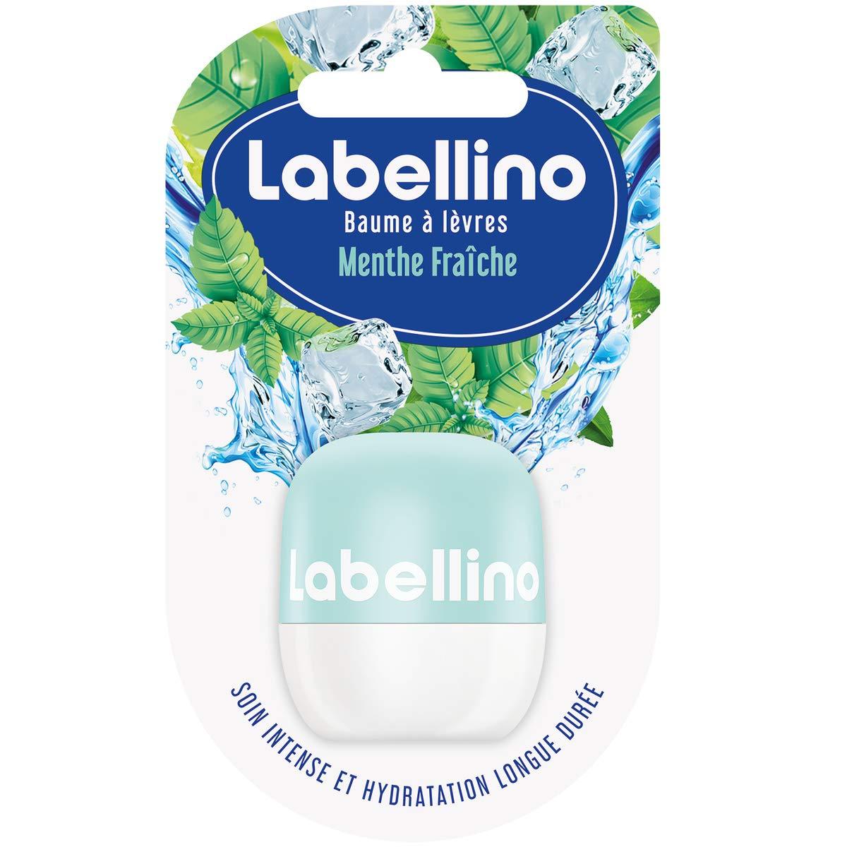 Labello Baumes à lèvres Menthe Fraîche 7 g - Lot de 2 852980542447