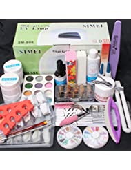 ReNext 25 in 1 Combo Set Professional DIY UV Gel Nail...