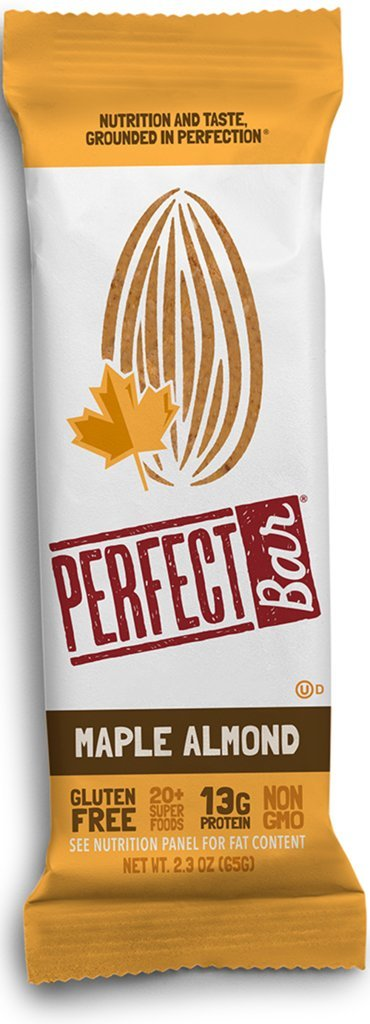 Perfect Bar - Maple Almond - 2.3 oz, Case of 8