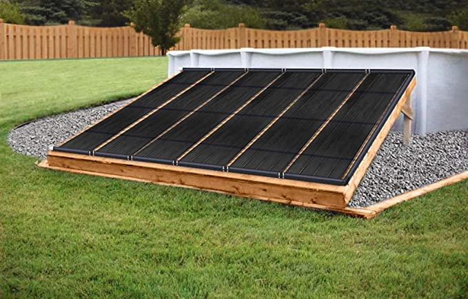 SunQuest 4-2X10 Solar Swimming Pool Heater System with Diverter Kit SunSolar