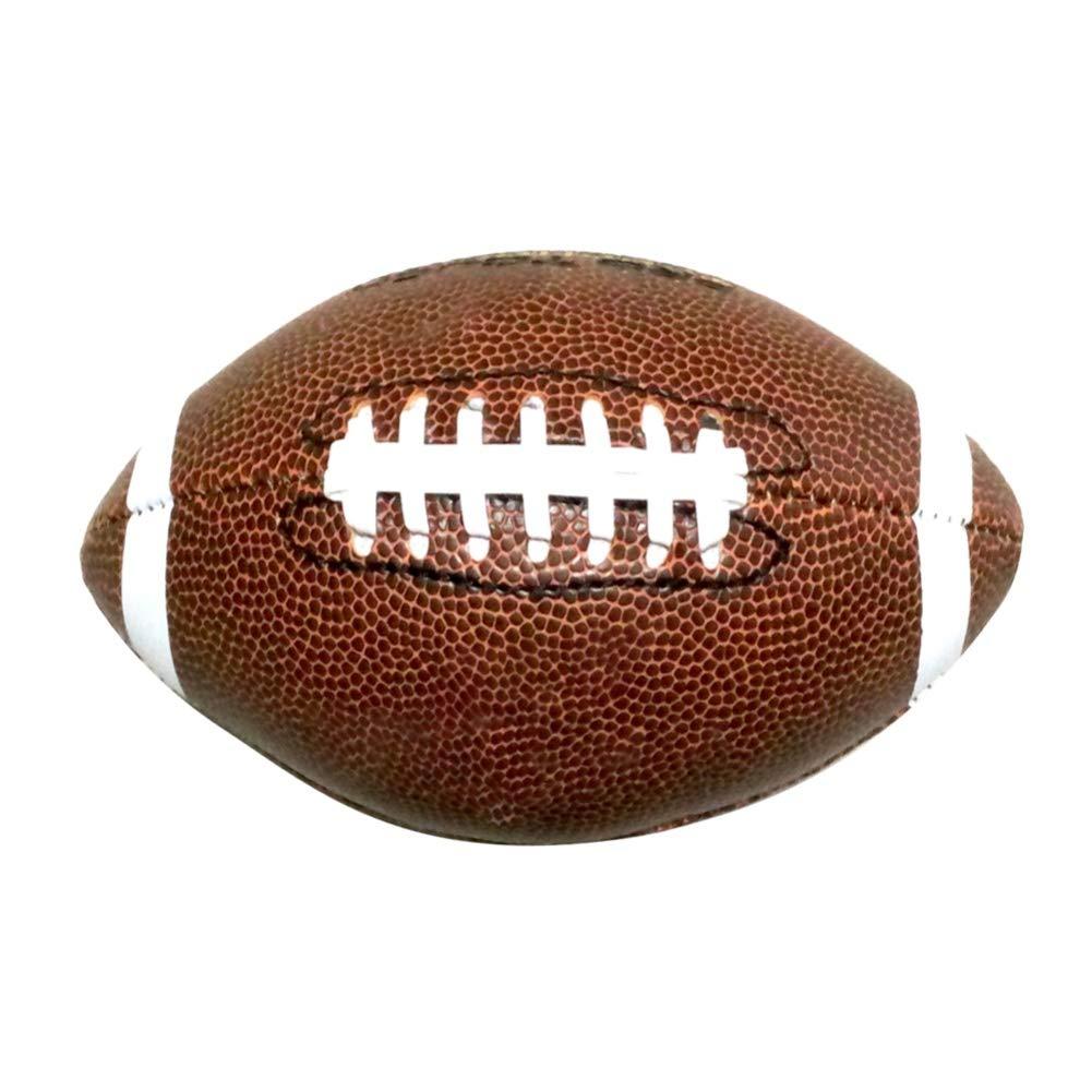 SUHAPPY アメリカンフットボール インフレータブル PVC レザーボール アウトドア キッズ 学生 スポーツゲーム B07ML34KZ7