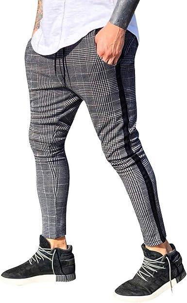 Vpass Pantalones Para Hombre Pantalones Moda Pop Casuales Chandal De Hombres Jogging Celosia Pants Trend Largo Pantalones Diseno De Personalidad Amazon Es Ropa Y Accesorios