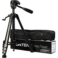 Yunteng Aluminium Tripod With Carry Case For DSLR - Vct-690 - Black