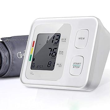 WanNing Alta precisión, Esfigmomanómetro electrónico, tensiometro Brazo,medidor Tension Arterial, Brazalete de presión Arterial, medición precisa de medidor ...