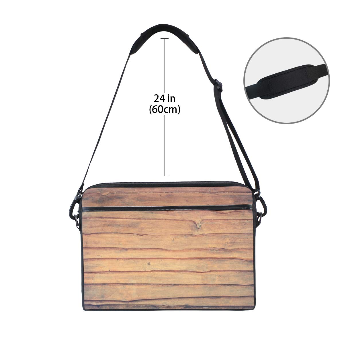 Suitable for 15 Inch Computers Handbags Shoulder Bags Briefcases Abstract Antique Mens and Womens Computer Bags