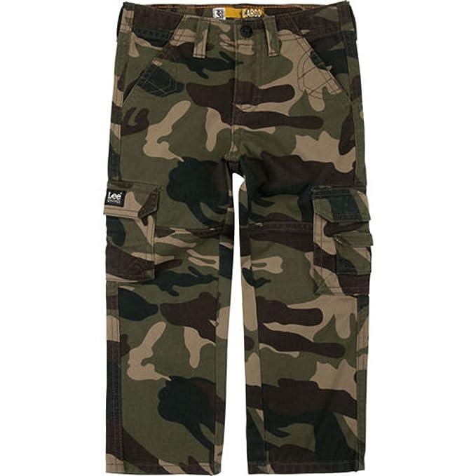 098e86c89b Amazon.com: Lee Little Boys' Dungarees Sure-2-Fit Cargo Pants (2T ...