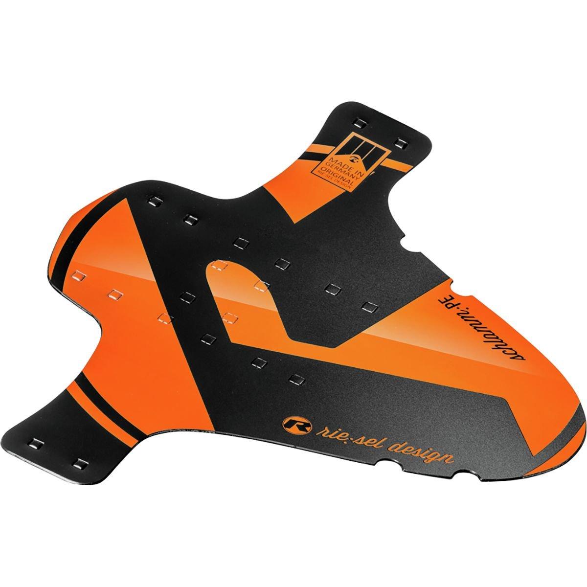 Riesel schlamm PE Enduroスタイルデュアル目的フロント&リアフェンダー – オレンジ   B01LYW37Z8