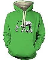 Banksy I Am Your Father Hoodie (premium) - Film Movie Geeky Tshirt
