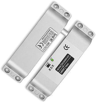 Verrouillage /à boulon /électrique DC 12V Fail Safe pour contr/ôle dacc/ès /à la porte Verrouillage de s/écurit/é