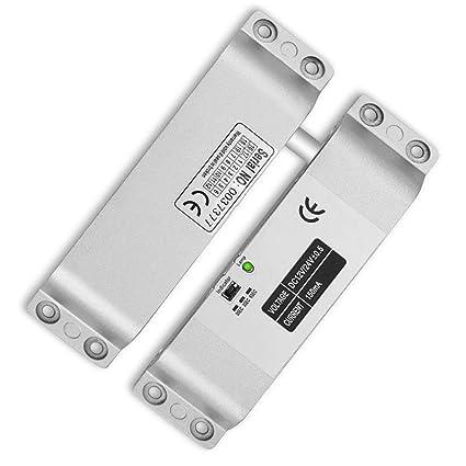 YAVIS Fail Safe Electric Drop Bolt Lock DC 12V with Time