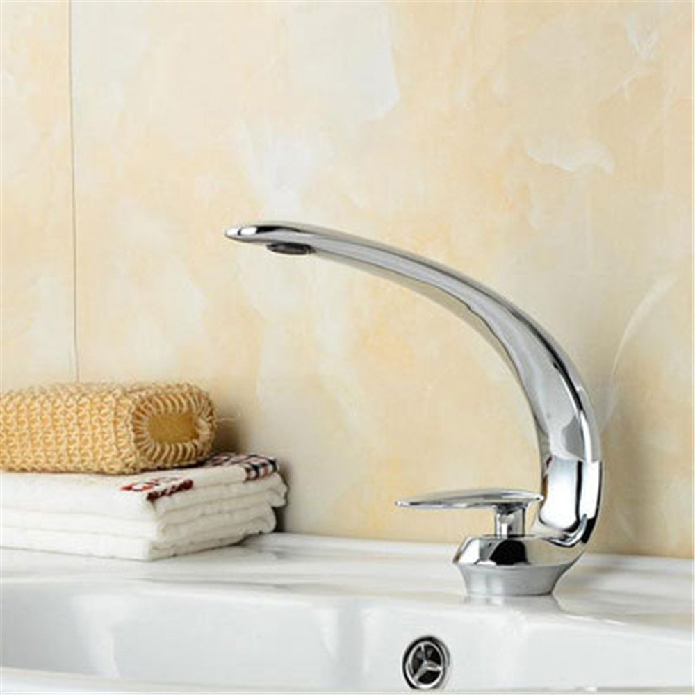 Bijjaladeva Bathroom Sink Vessel Faucet Basin Mixer Tap Black antique faucet hot and cold basin black faucet basin mixer Flat Nozzle waterfall faucet brushed plated faucet C3
