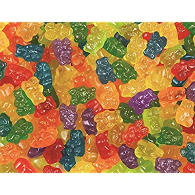 Springbok Puzzles - Gummy Goodness - 400 Piece Jigsaw Puzzle - Large 26.75 Inches by 20.5 Inches Puzzle - Made in USA - Unique Cut Interlocking Pieces - Big Pieces for Kids & Small Pieces for Adults: Toys & Games