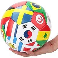 Delicaat voetbal, wedstrijdvoetbal, opvallende kleuren Composietmaterialen Duurzaam voor tieners Studenten Kinderen…