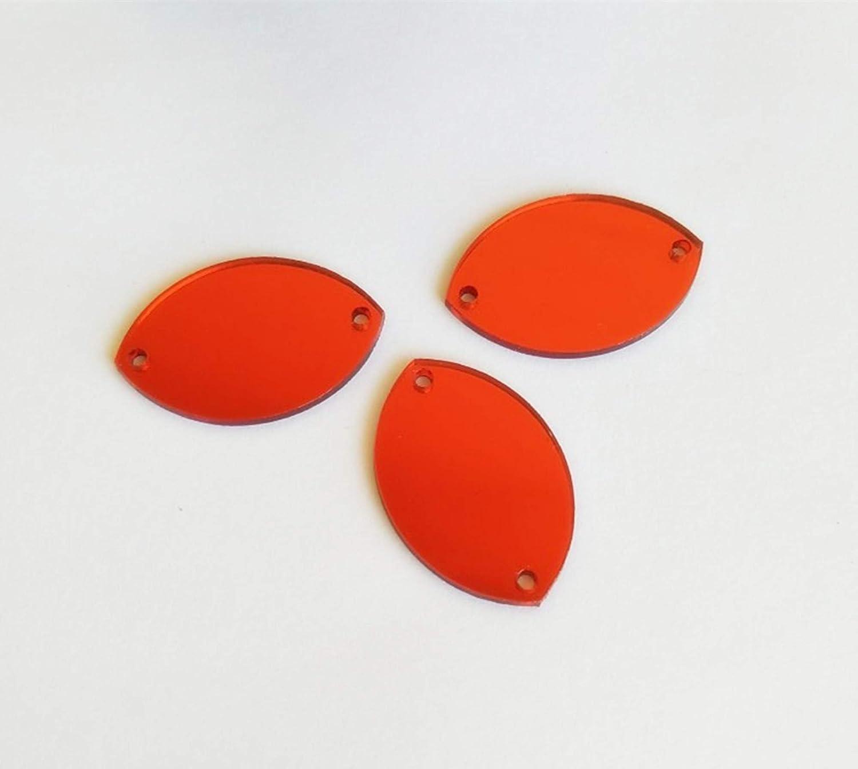 Sew auf Water Drop Form Spiegel Perlen DIY verspiegelt strass f/ür Kost/üm Kleider Tuch Garment Dekoration Zubeh/ör gold