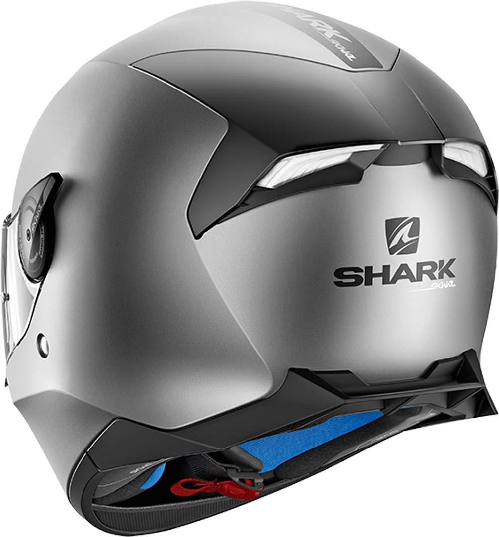 Anthracite M Shark Casque moto SKWAL 2 BLANK Mat AMA