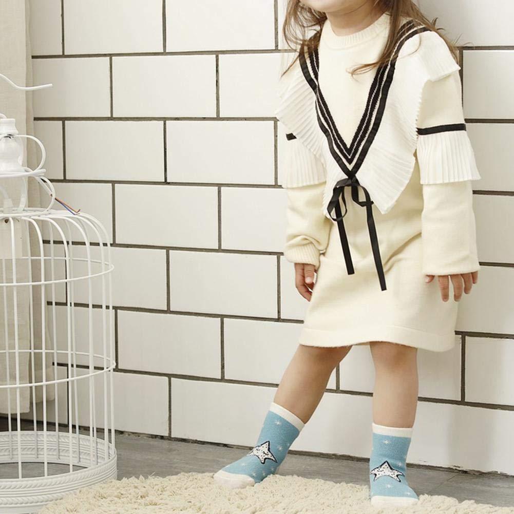 Socks For Baby,Cute Baby Boys Girls Star Moon Print Socks Kids Cotton Soft Short Socks