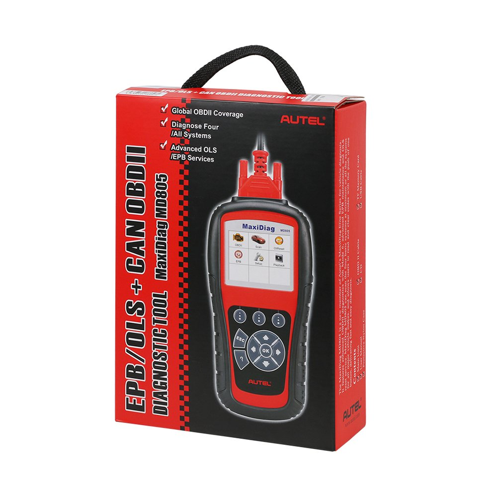 Autel MaxiDiag MD805 (Autel MD802)Scan tool All System Engine, Transmission, ABS, Airbag,EPB,OIL Service Reset & Electronic modules by Autel (Image #7)
