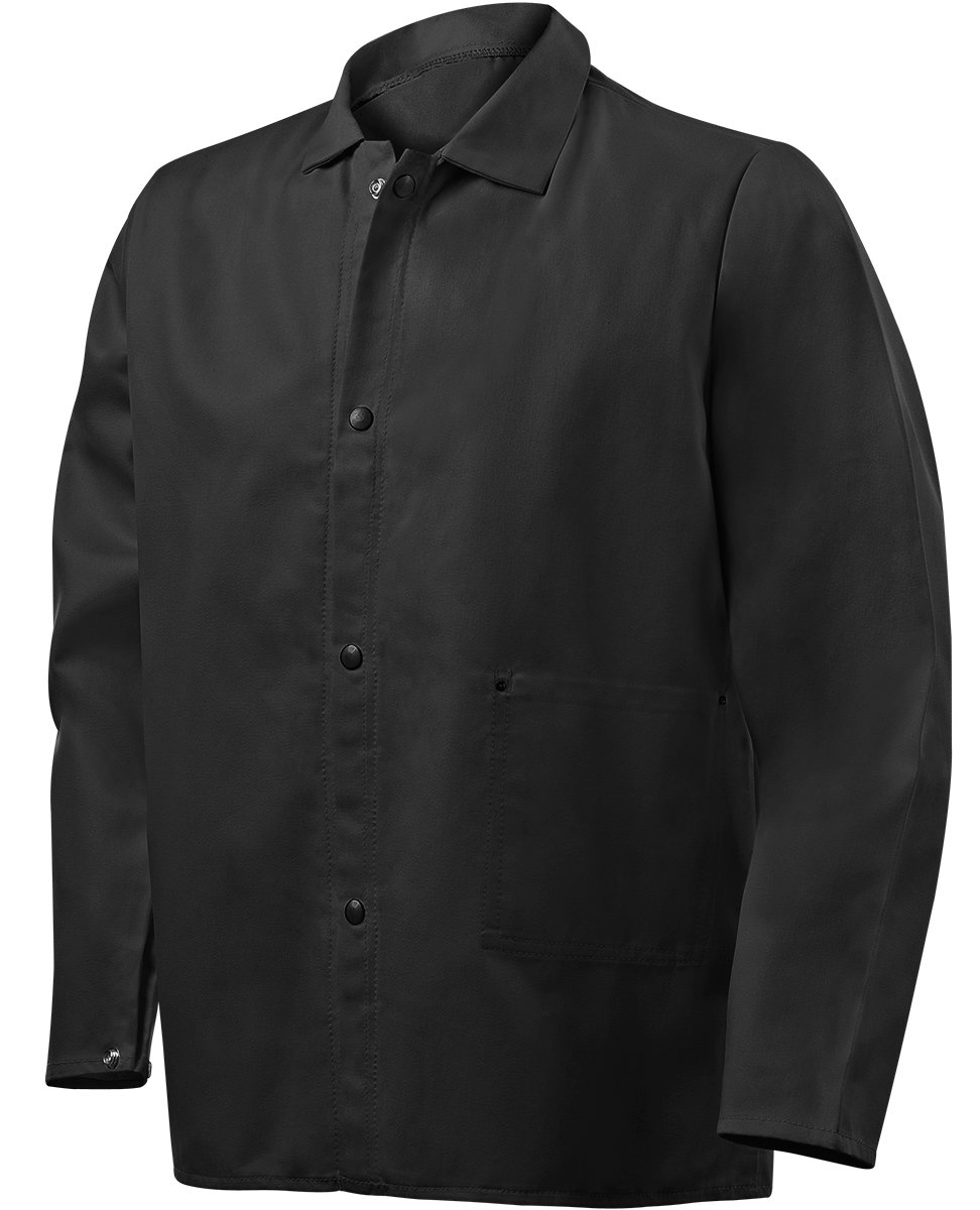 Steiner 1080-5X 30-Inch Jacket, Weld Lite 9-Ounce Fire Resistant Cotton Black, 5X-Large