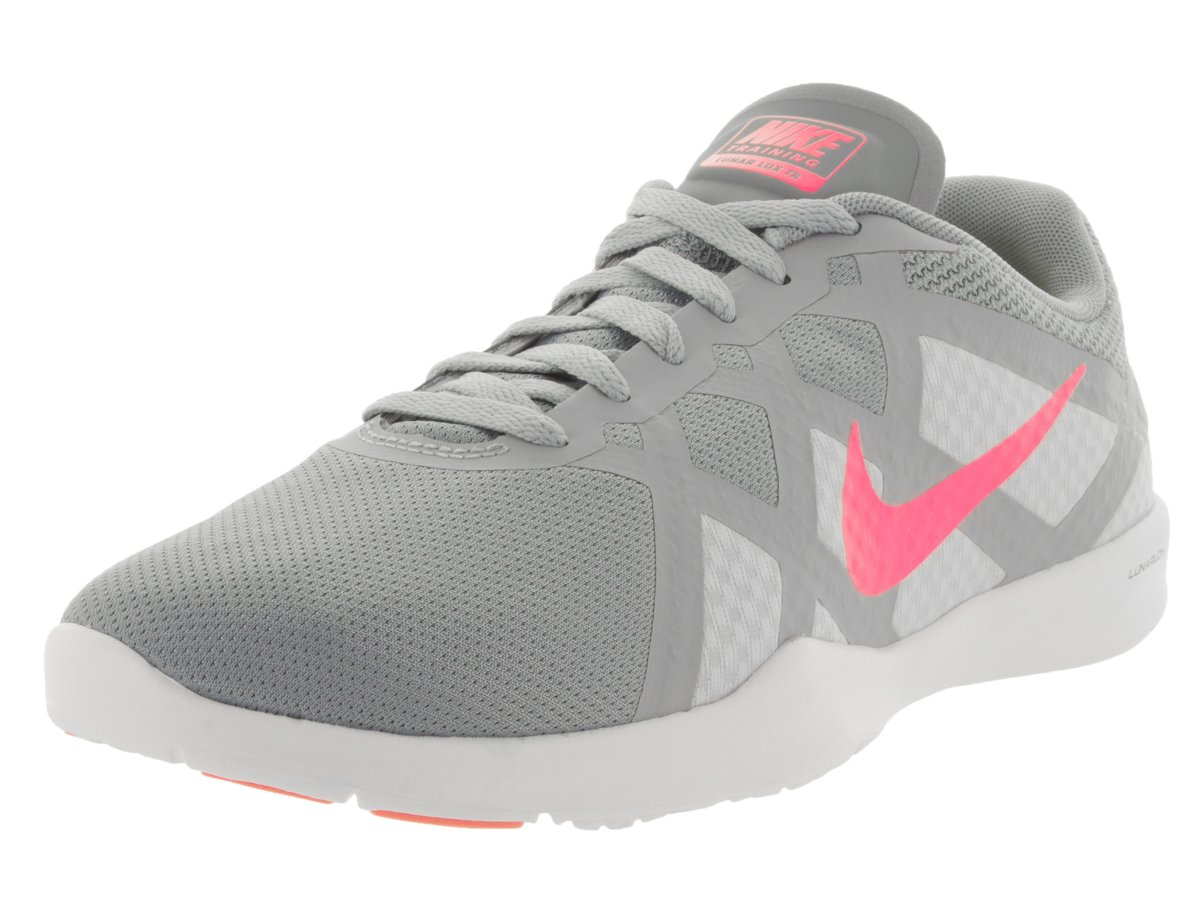 Nike Women's Lunar Lux TR Stlth/Pnk PW/PR Pltnm/WLF Gry Training Shoe 10 Women US
