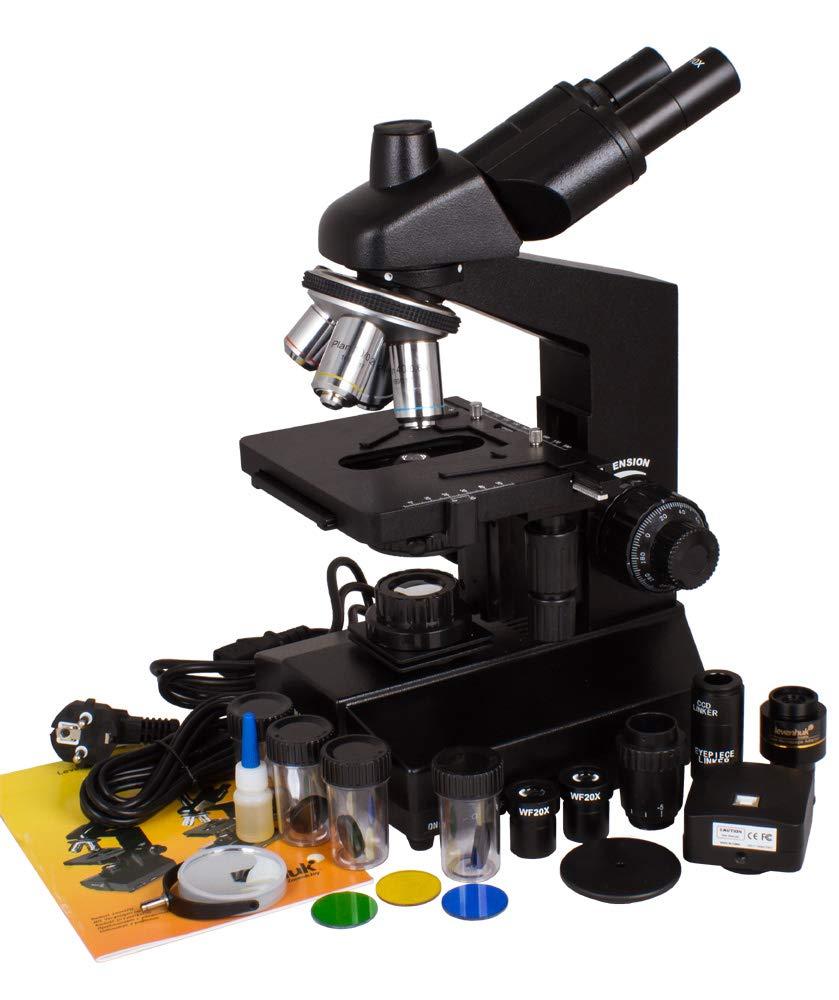 Levenhuk D870T 8M Digital Trinocular Microscope by Levenhuk