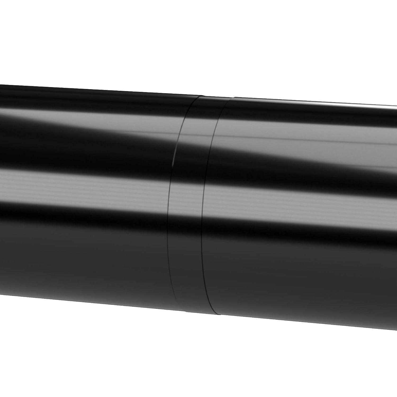 Black Furniture Grade 1//2 Size Pack of 10 FORMUFIT F012ICO-BK-10 Internal PVC Coupling