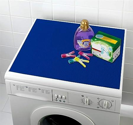 Waschmaschinen-Auflage Blau: Amazon.es: Hogar