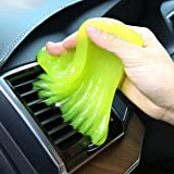 Sendida Car Cleaning Putty Detailing Glue - Auto Interior Magic Cleaner Putty Slime Detailer Mud Dust Remover Gel for PC Tablet Laptop Keyboards Car Vents Cleaner Goop - Green