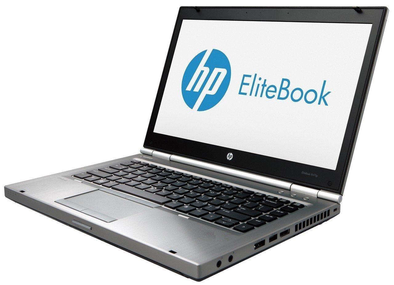 "2017 Hp Elite Book 8470 P 14"" Hd Laptop Computer, Intel Core I7 3520 M 2.90 G Hz (4 M Cache, Up To 3.60 G Hz), 8 Gb Ram, 180 Gb Ssd, Web Cam, Wifi, Windows 10 Professional (Certified Refurbished) by Hp"