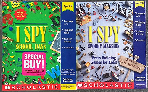 Twin I SPY Pack, School Days and Spooky Mansion by - Pack 95 Twin