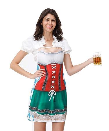 Amazon.com: Charming House - Delantal de Oktoberfest para ...