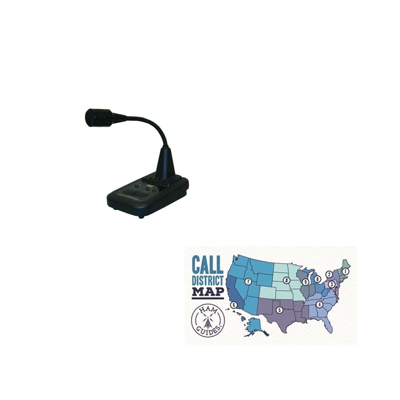 MFJ-297 ~Desktop microphone, with flexible boom