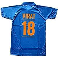 Sportscart Virat Kohli JerseyT-Shirt for Kids, Boys and Men- Blue