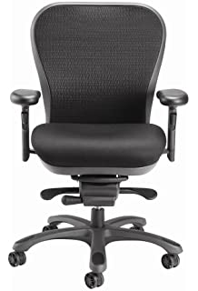 CXO Ergonomic Executive Mid Back Task Chair in Black (Black)